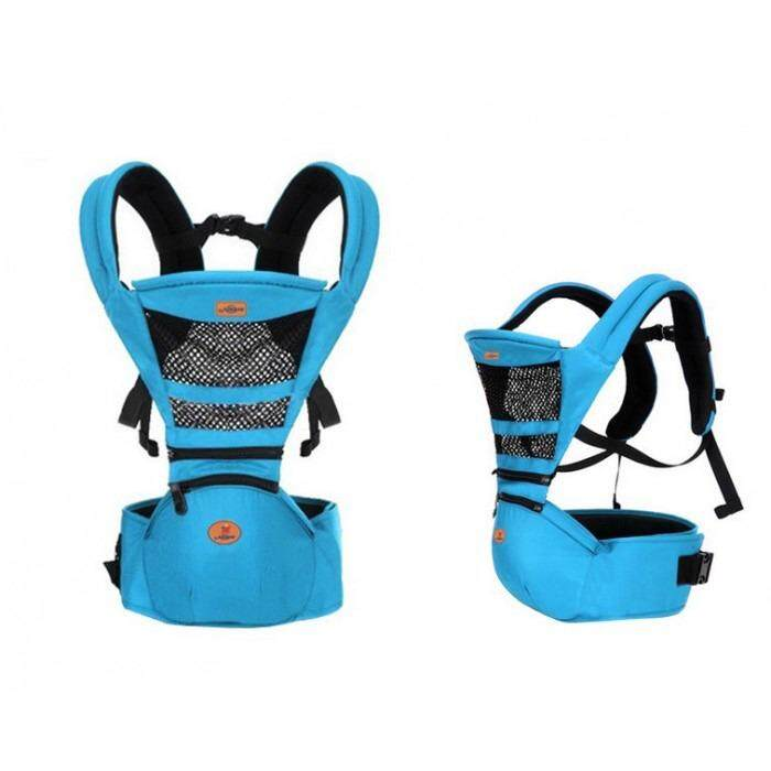 1717139b244  Ready Stock  Aiebao Baby Hip Seat Hipseat Double Shoulder Stool Strap Baby  Carrier Newborn
