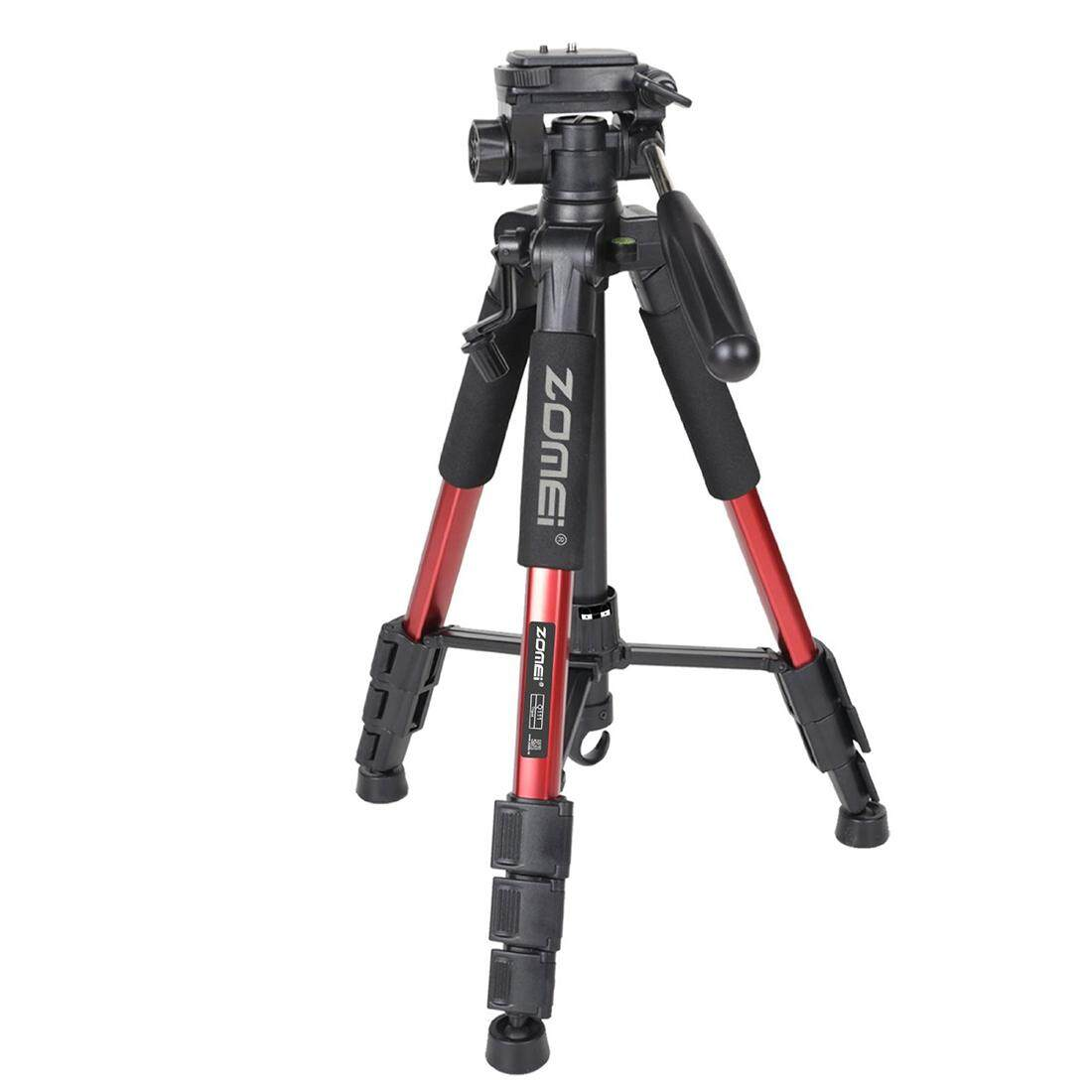 ZOMEI Q111 Portable Pro 55-inch Tripod Compact Lightweight Camera Stand with Quick Release Pan
