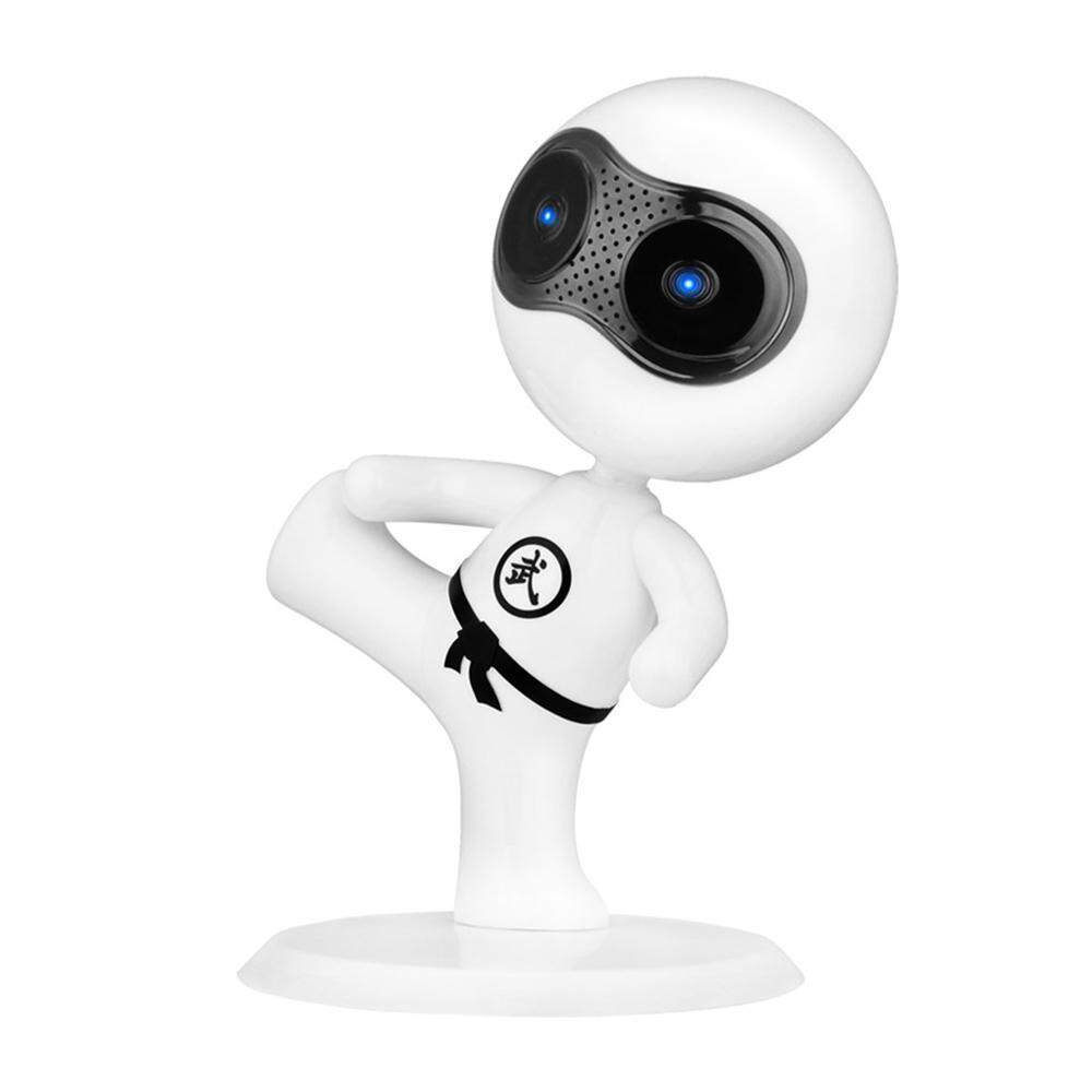 wanying New Fashion Robot Desktop Small Speakers Kung Fu Boy Cartoon Characters Speaker - intl
