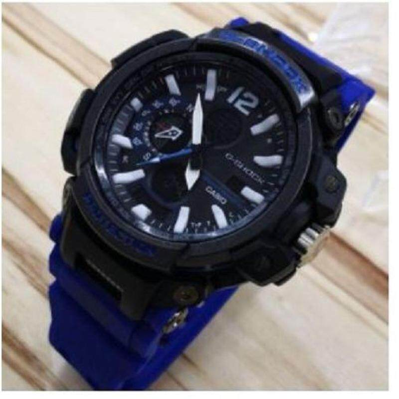 New Casio G shock Global Positioning System WR Blue Sport Watch Malaysia