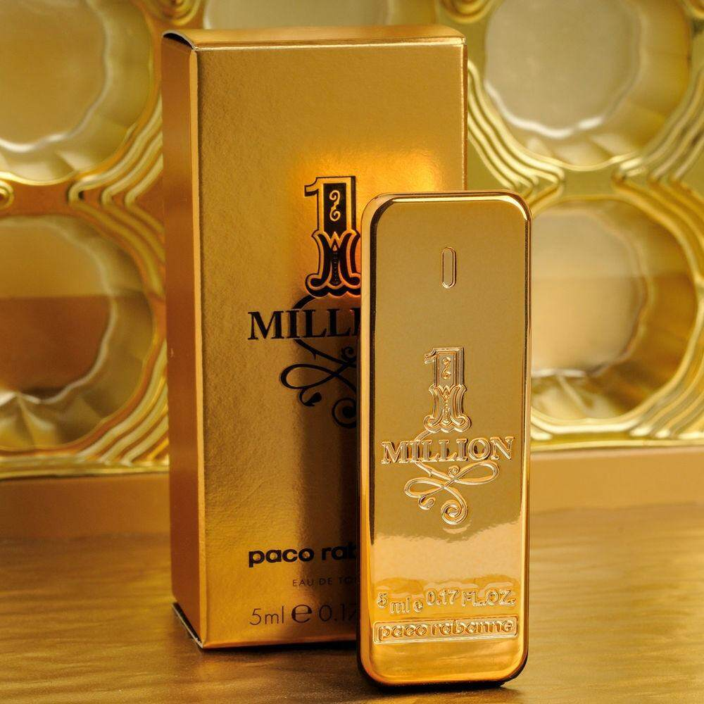 Rm3600 1 Million Absolutely Gold Perfume For Men By