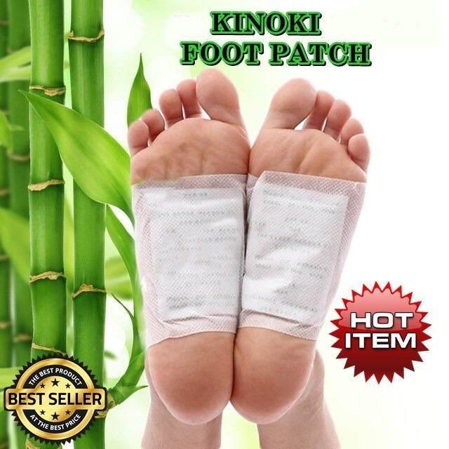 (White Box)Kinoki Cleansing Detox Foot Pads Patch