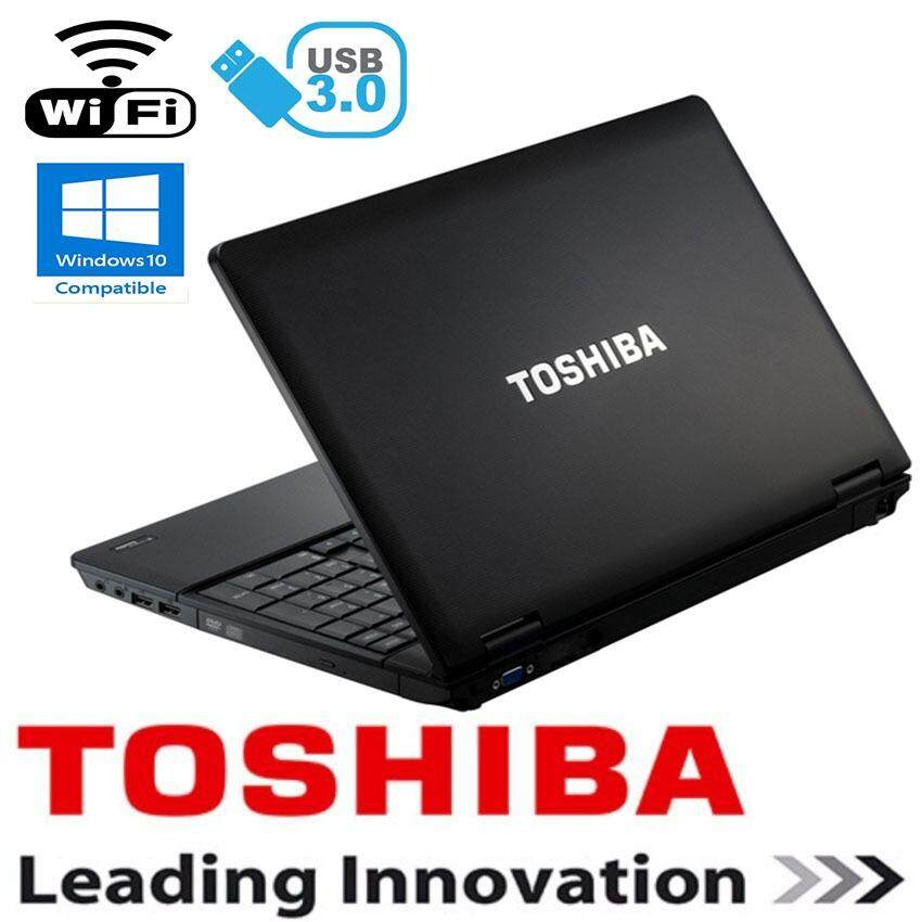 ( Refurbished ) Toshiba Satellite intel Core i3 4gb ddr3 250gb hdd dvd usb3.0 laptop notebook Malaysia