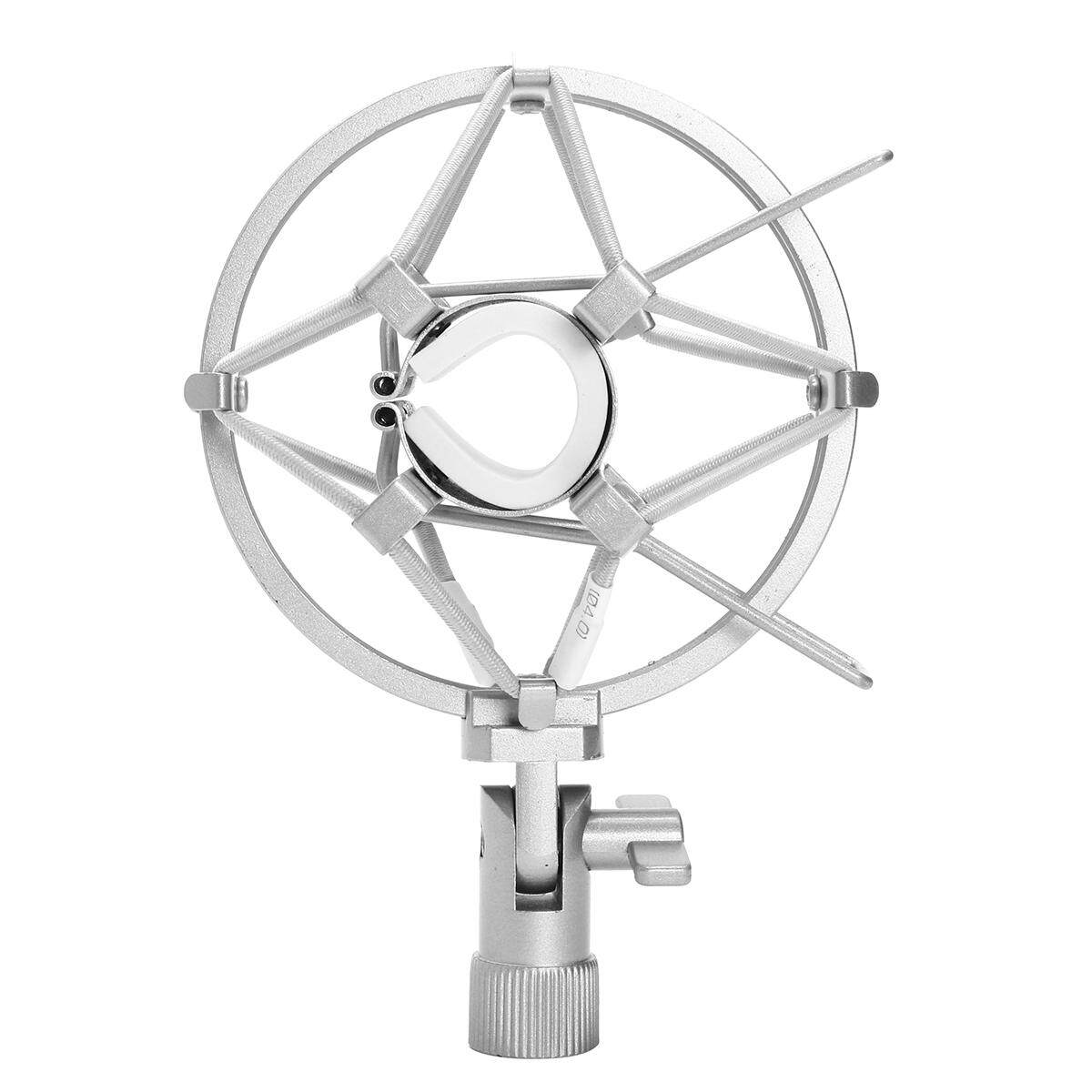 Black Mic Shock Mount For Small Diameter Microphone 22mm-24mm Sliver By Glimmer.