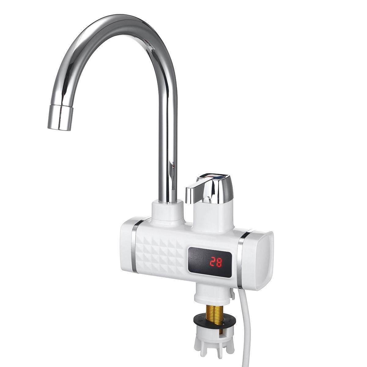Electric Faucet Tap Hot Water Heater Instant For Home Bathroom Kitchen - intl