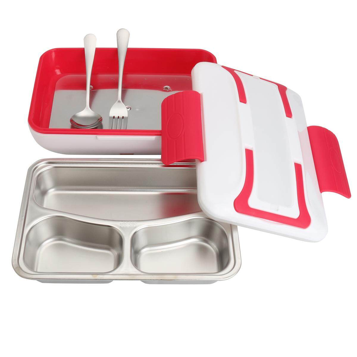 Portable Car Truck Electric Heating Lunch Box Food Warm Heater Storage Container By Moonbeam.