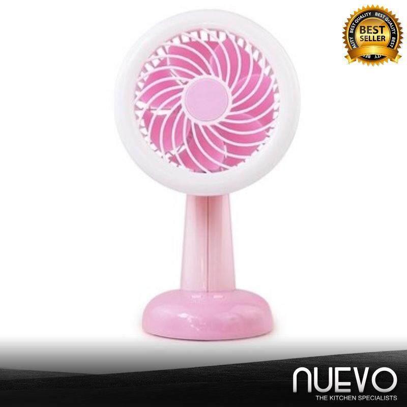 Nuevo Rechargeable Mini Fan Desktop Fan USB Desk Lamp Fan Children Student Office Dormitory Fan