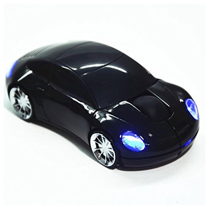 Mini 2.4Ghz Wireless Optical Mouse Car Shape USB Receiver Malaysia