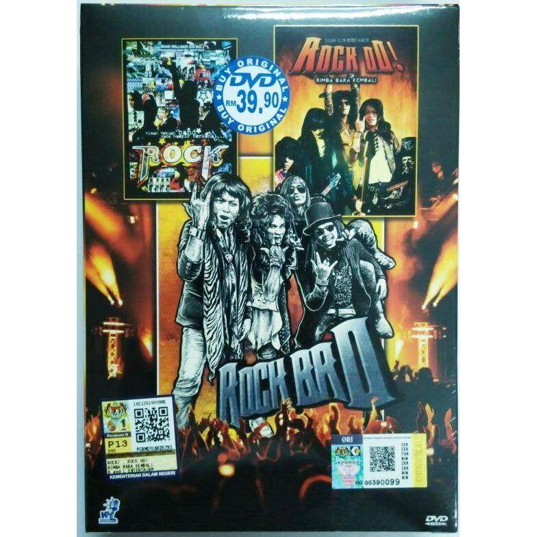 Rock + Rock To + Rock Bro 3 In 1 Malay Movie DVD