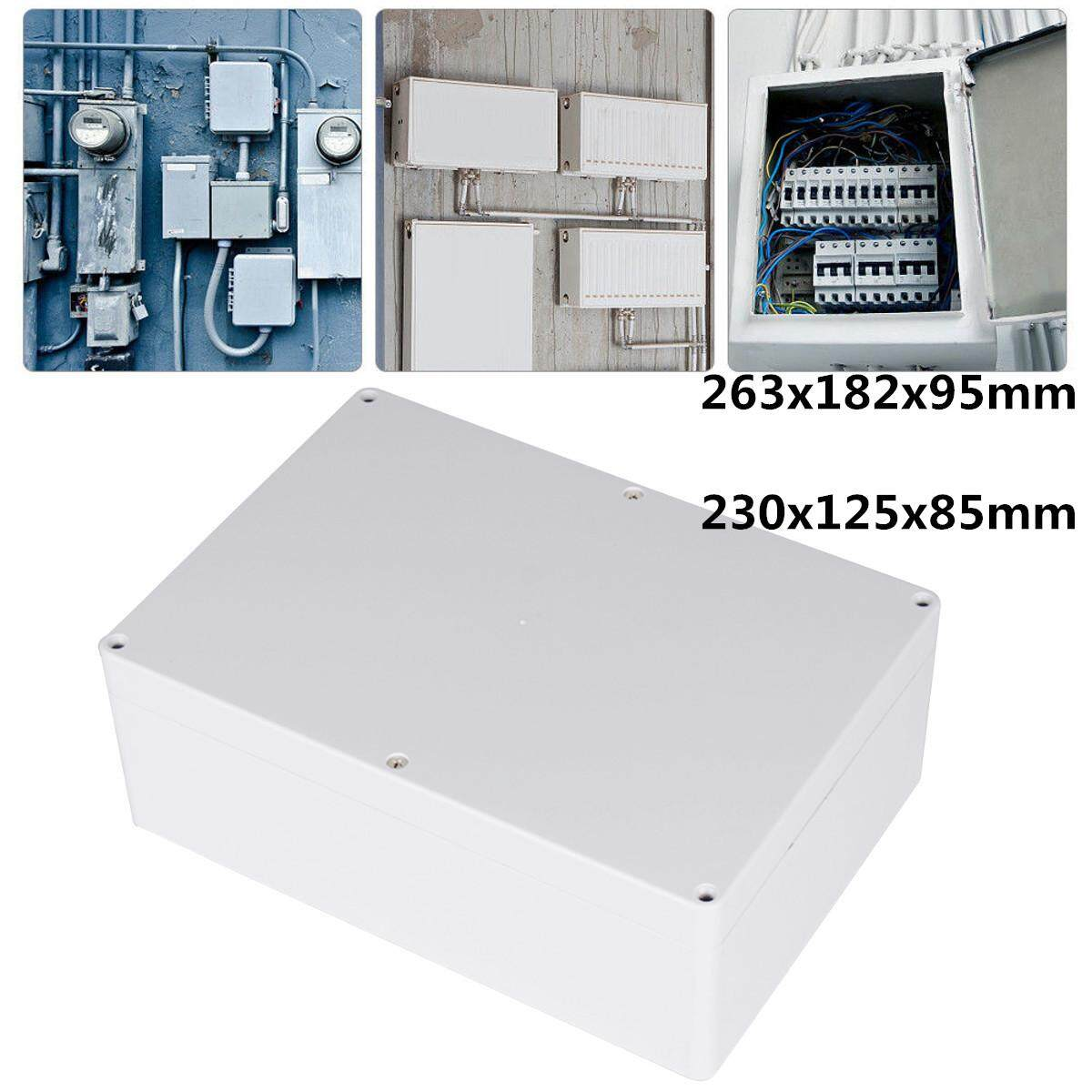 Waterproof Clear Electronic Project Box Enclosure Plastic Case Junction Box - intl