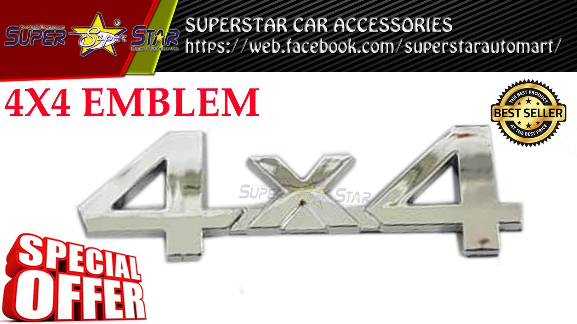 4X4 EMBLEM