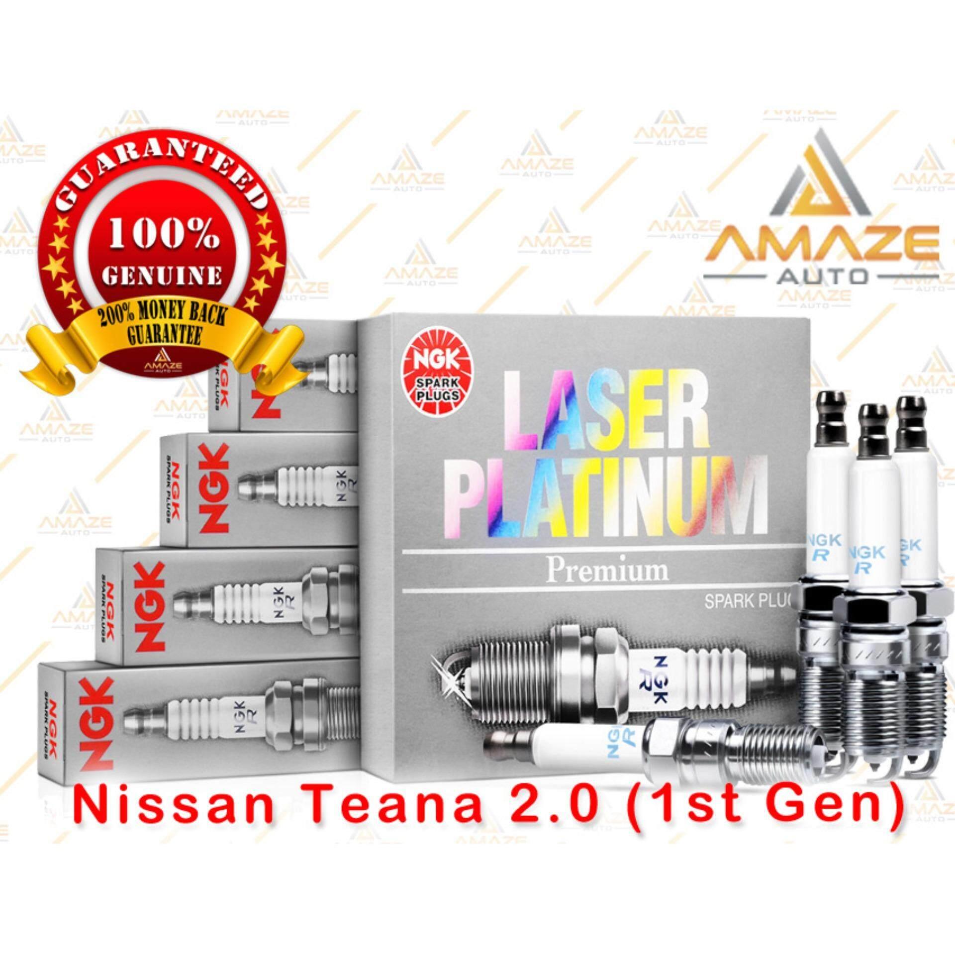 NGK Laser Platinum Spark Plug for Nissan Teana 2.0 (1st Gen)
