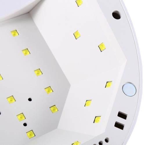 SUNONE LED UV WHITE LAMP MULTI-FUNCTION NAIL DRYER (WHITE)