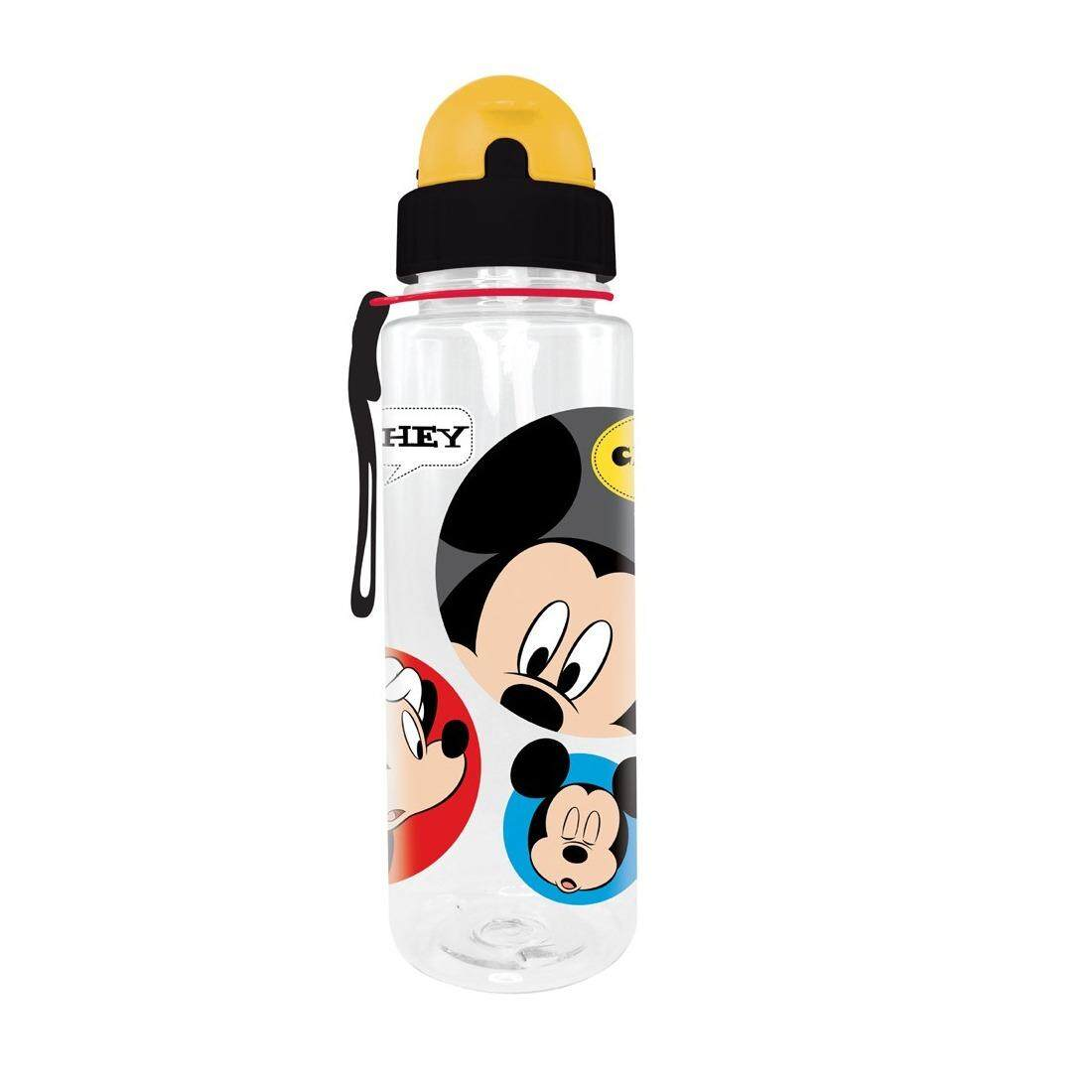 Disney Mickey Buy At Best Price In Malaysia Www Luggage Tag Head Mouse Cheeky 650ml Tritan Bottle With Straw Bpa Free