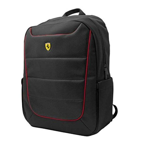 Ferrari Scuderia Backpack - Black - Red Piping -15 - intl