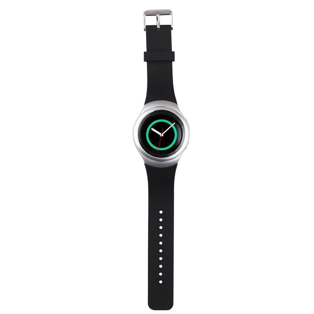 ... Silicone Watch Band for Samsung Galaxy Gear S2 SM-R720 (Black) - 3 ...