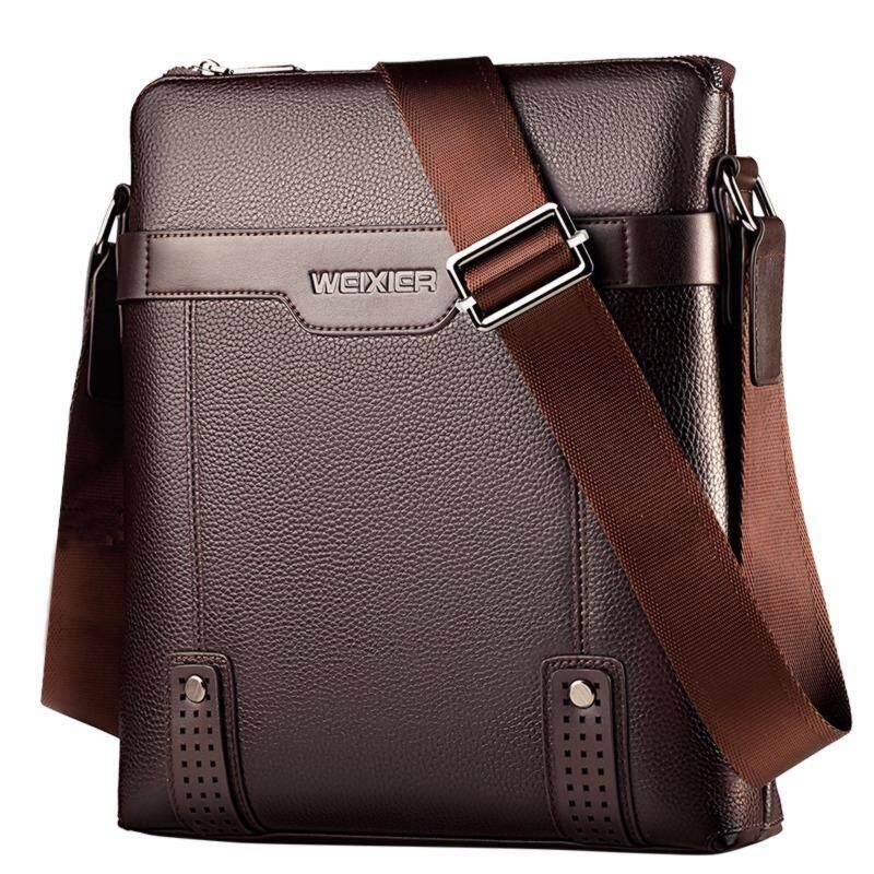 7e817a85ff New Fashion PU Leather Male Shoulder Fashion men s bag Messenger Small Flap  Business Casual Handbags Satchel