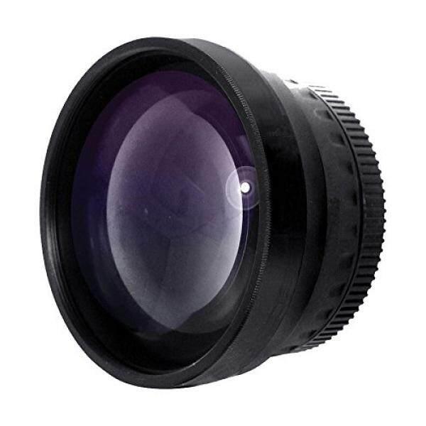 Baru 2.0x Definisi Tinggi Tele Lensa Konversi untuk Nikon 1 J5 (Hanya untuk Lensa dengan Filter Ukuran 40.5 52, & 55 Mm)-Intl