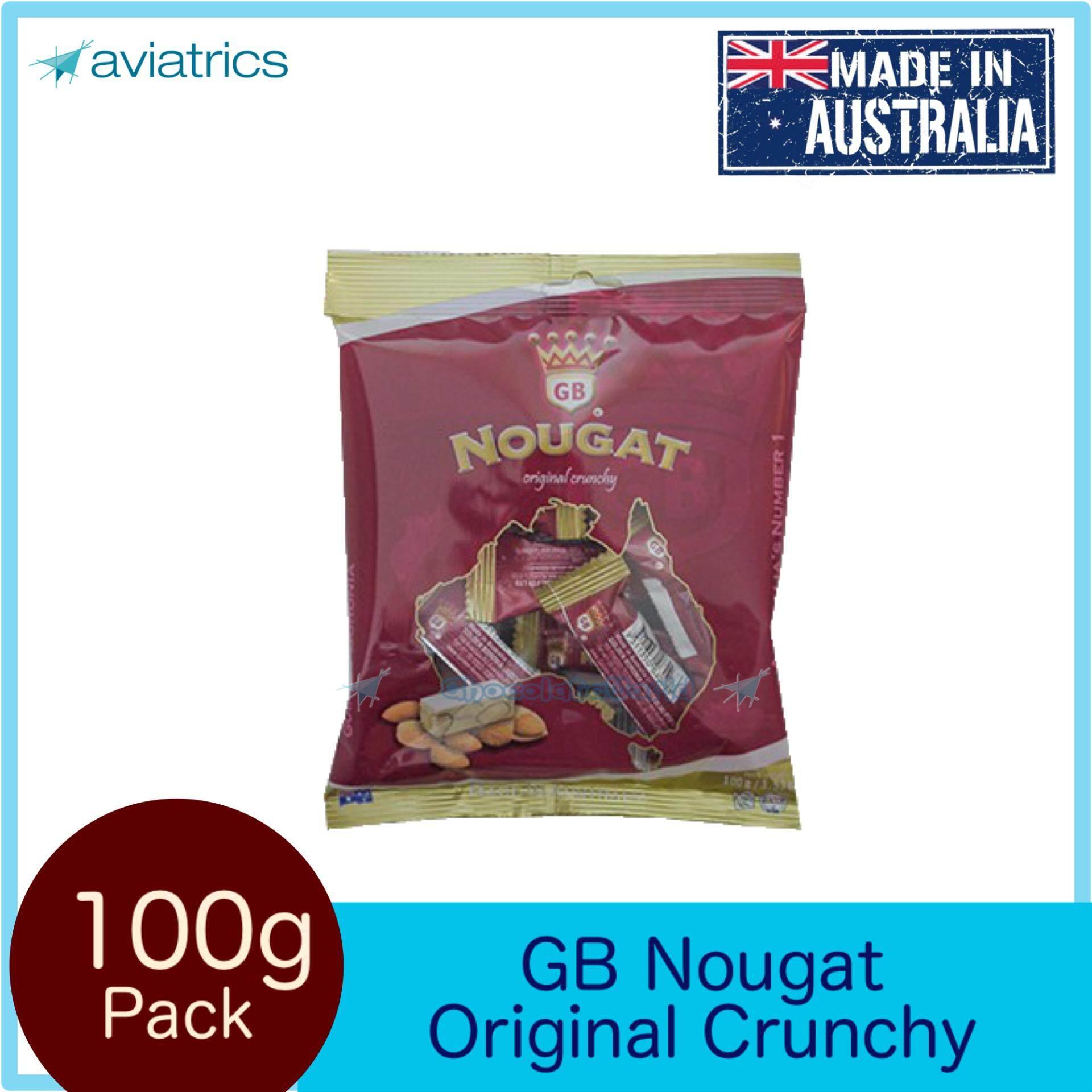 Golden Boronia Nougat Original Crunchy 100g (Made in Australia)