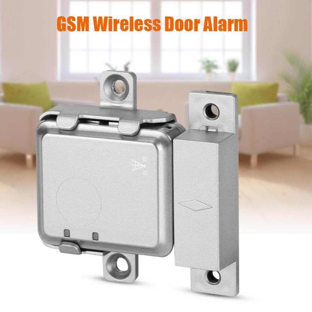 Hot Mini Real-time GSM Wireless Smart Door Alarm Magnetic LBS Locator Home Security System - intl