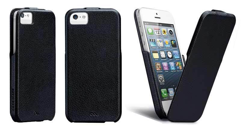 Original CASE-MATE Signature Flip Case for iPhone 5/5S - Black