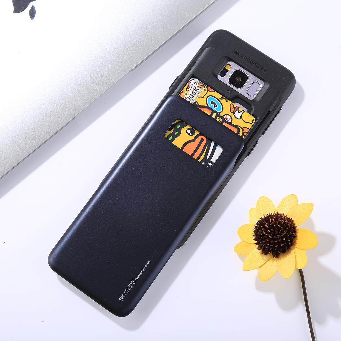 Jual Murah Goospery Samsung Galaxy S8 Plus New Bumper X Case Black Soft Feeling Jelly Features Mercury For G950 Tpu Pc Sky