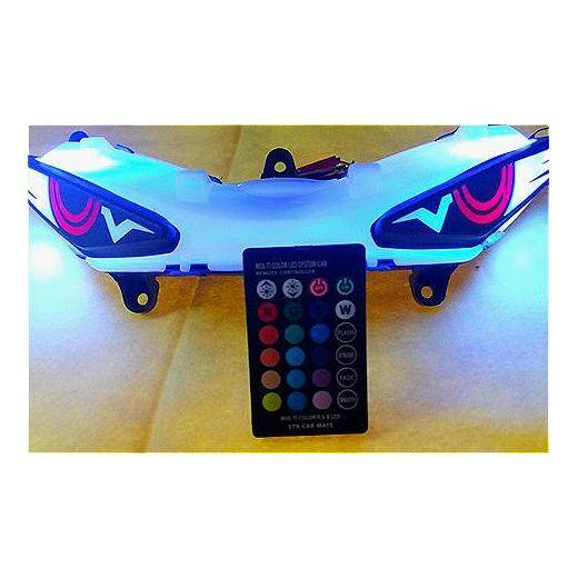 Review Yamaha 2018 Y15zr New Eagle Led With Remote Control Led Color
