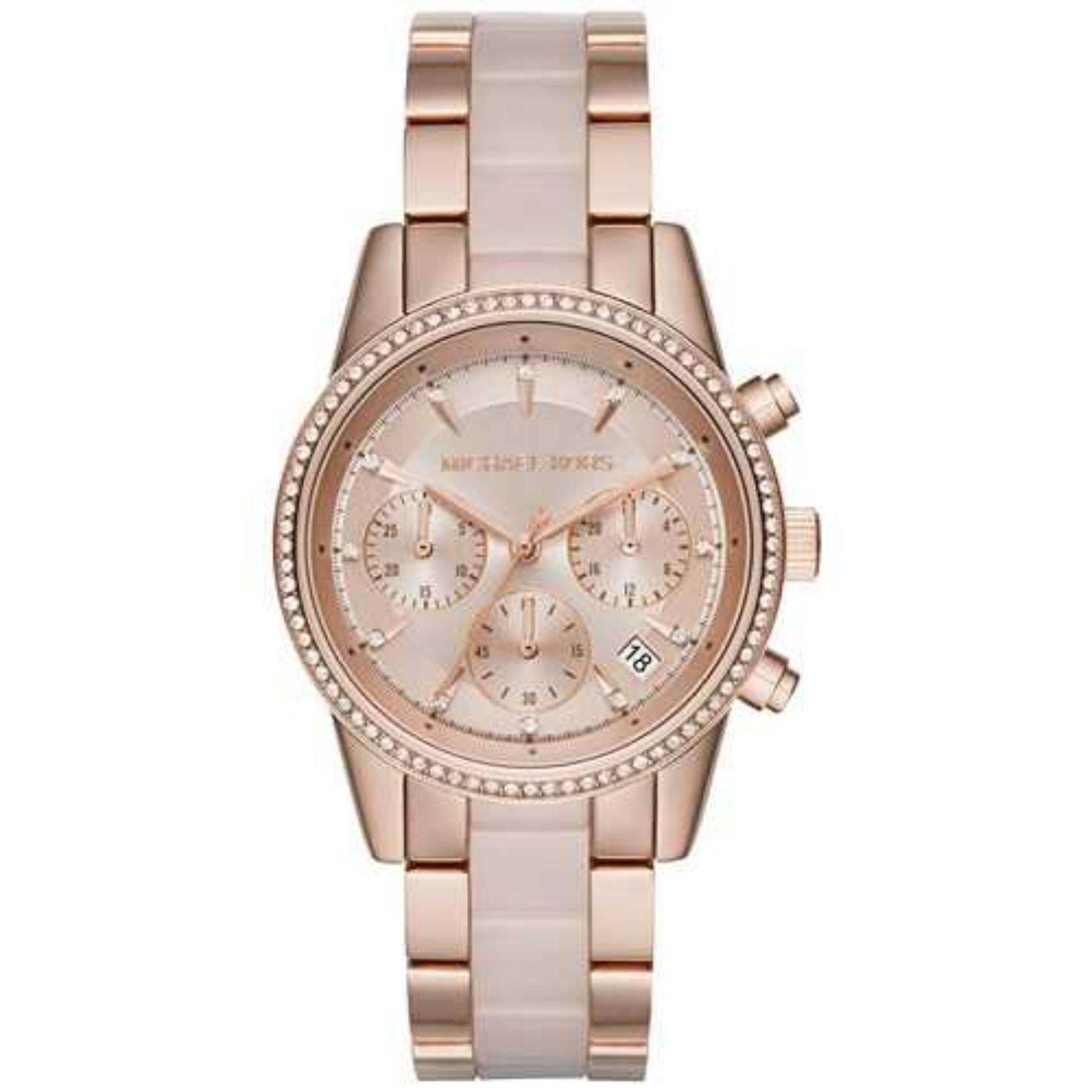 fossil pink watches large youtube ladies watch bridgette womens
