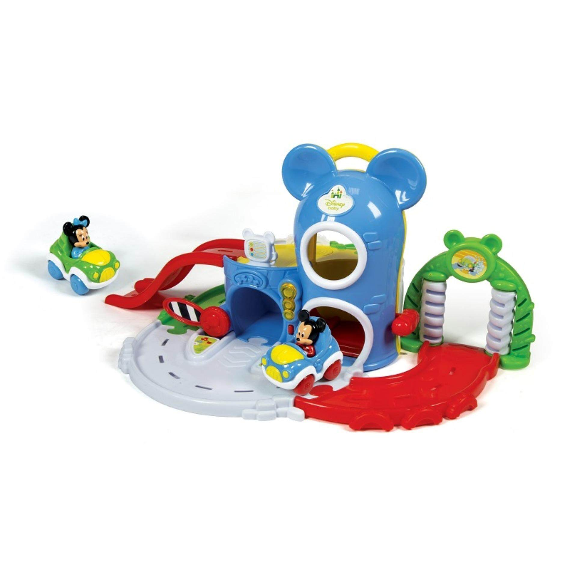Disney Baby Developmental Activity Fun Garage Musical Toys - Mickey toys education
