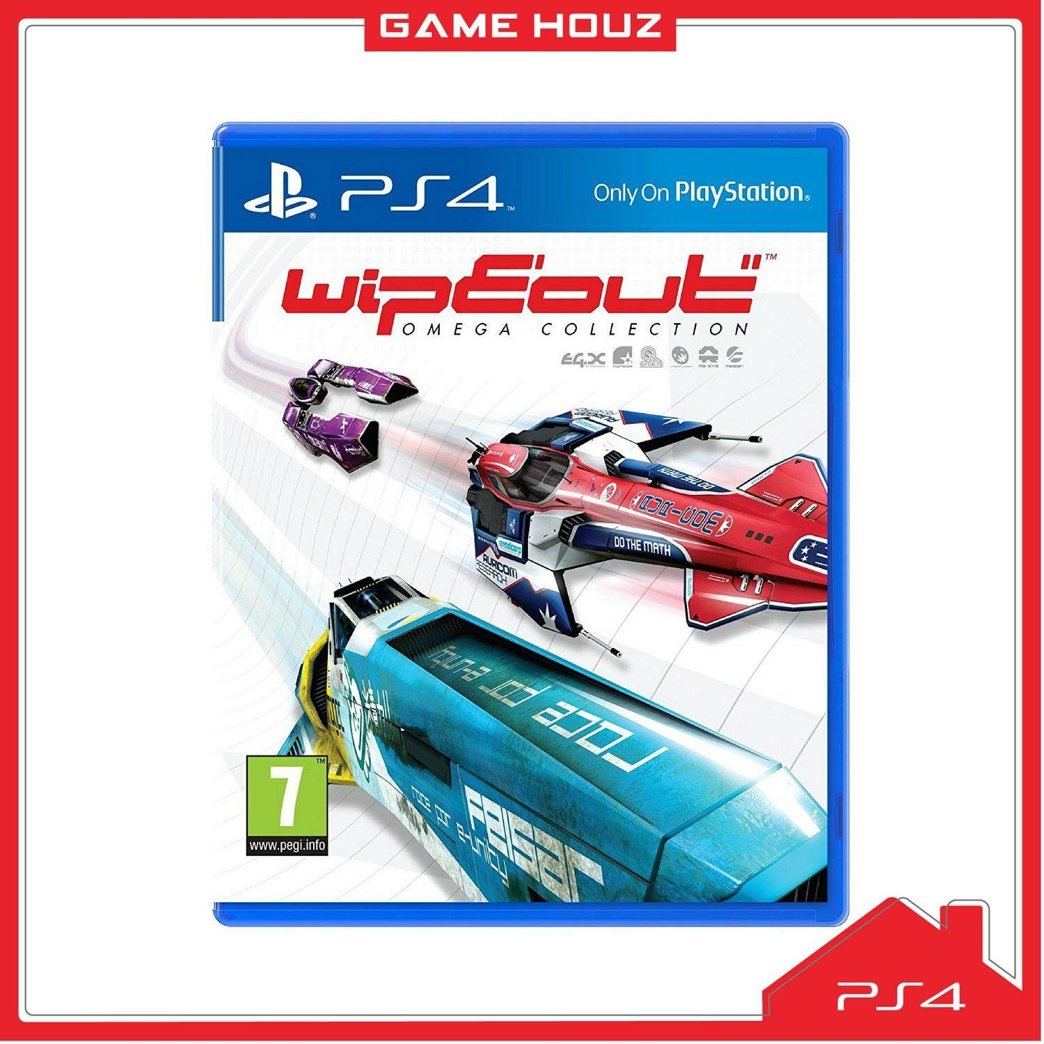 (PS4) WipEout Omega Collection (R3/ENG/CHN)