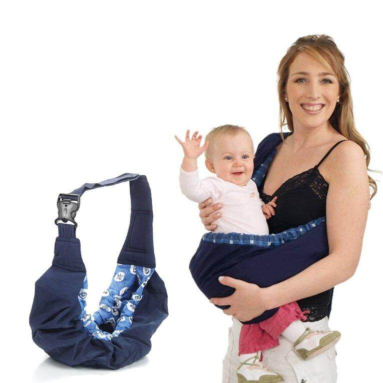 IBERL Newborn Baby Sling Carrier Ring Wrap Adjustable Soft Nursing Pouch Front Infant - intl