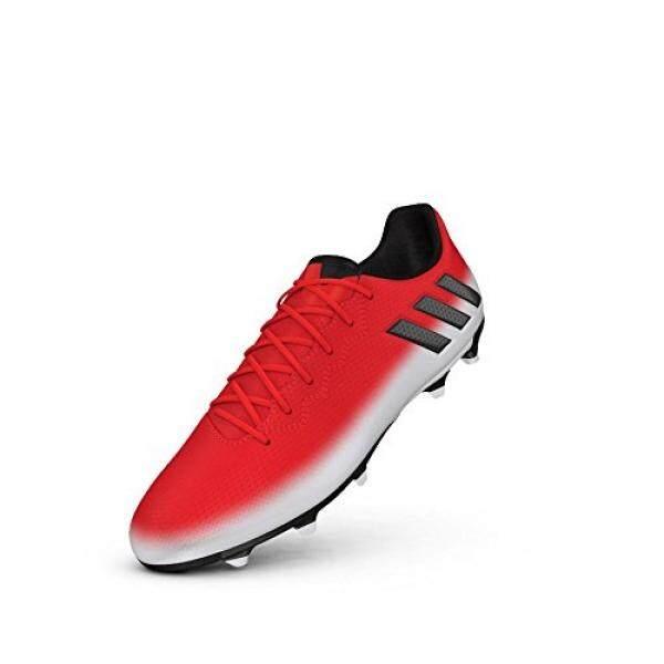 Adidas Pria Messi 16.3 FG Sepatu Sepak Bola, Merah/Hitam/Putih-Internasional