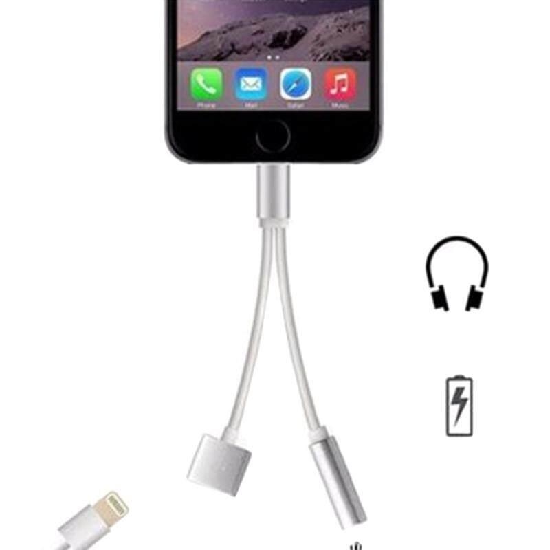 ... Rojey Headphone Kabel Ekstensi Lampu Turn 3.5 Mm Konektor Audio Combo untuk iPhone 7 - 3 ...
