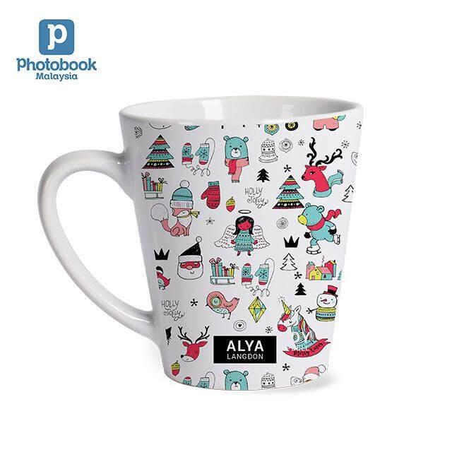 [e-Voucher] Photobook Personalised Disney Mickey Mouse Single Latte Mug