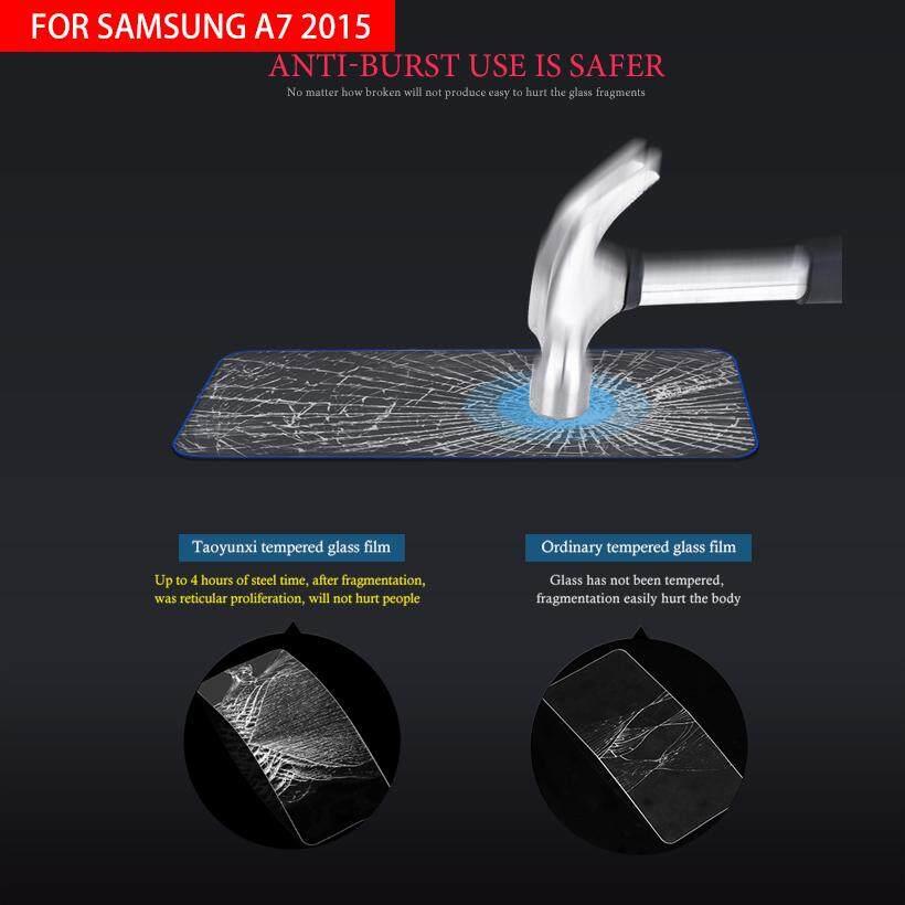 ... AKABEILA 2PCS Tempered Glass For Samsung Galaxy A7 2015 A700FD A700F A700K A700S A700L A7000 A7009