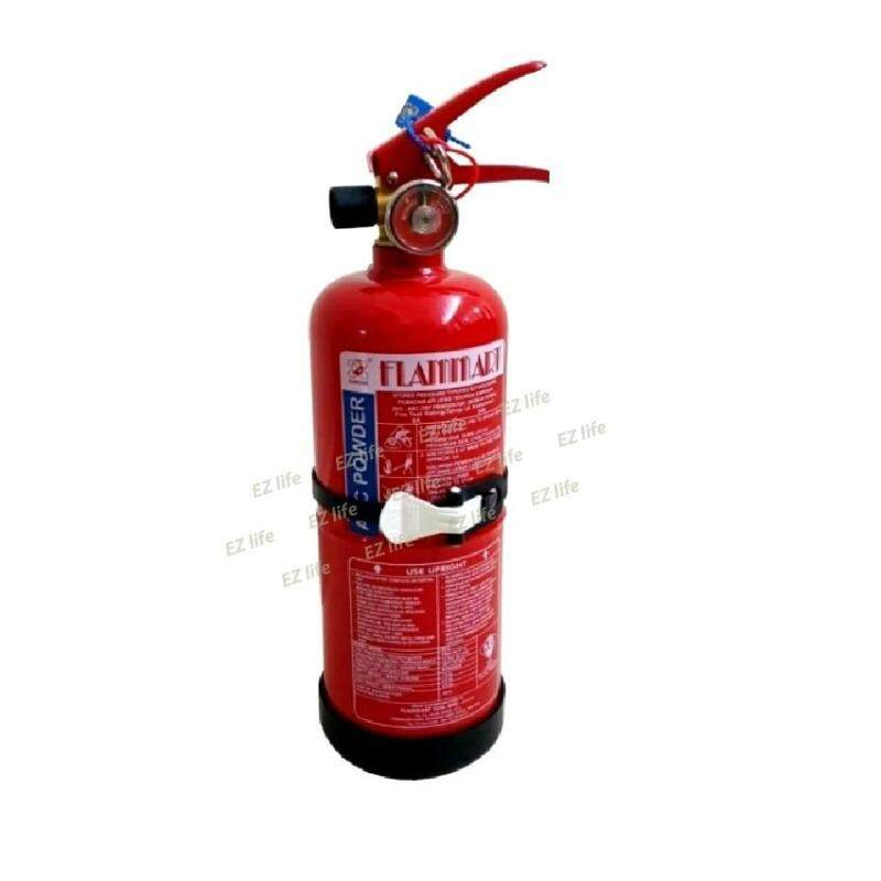 Flammart 1kg ABC Dry Powder Fire Extinguisher (SIRIM Approved) suitable for vehicles and household