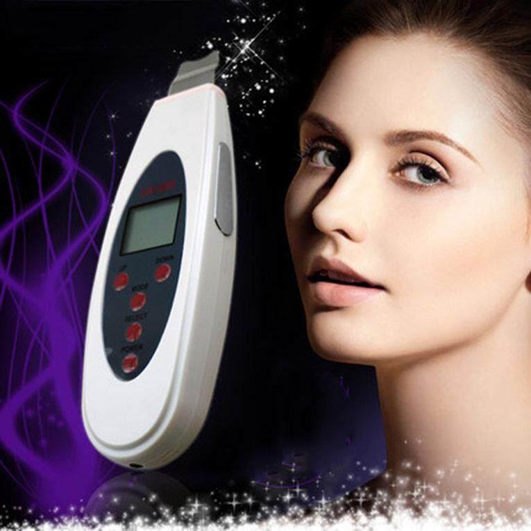 LW-006 portabel wajah LCD USG Digital kulit Scrubber Skin Care Plug Uni Eropa