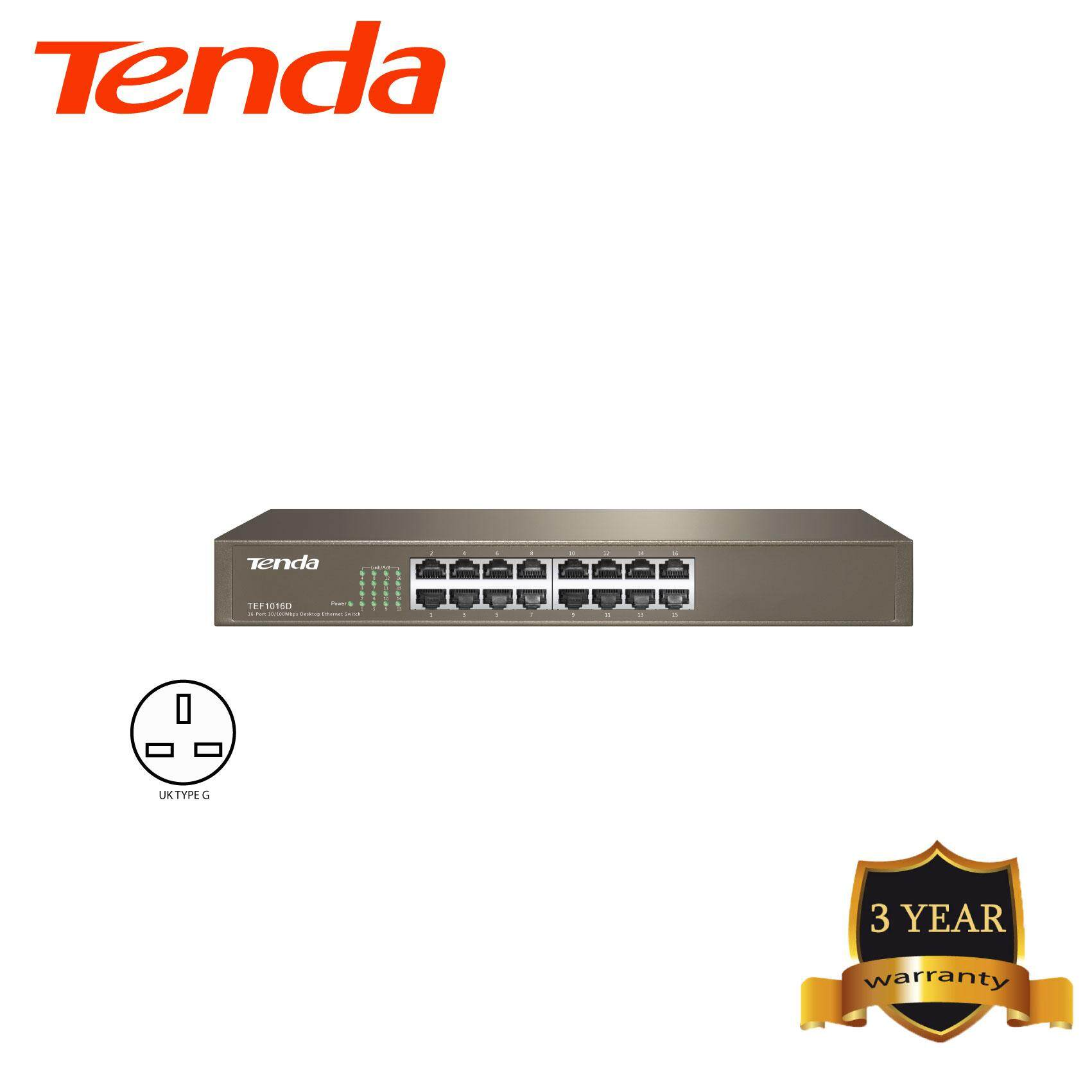 Tenda TEF1016D 16-port 10/100M Switch