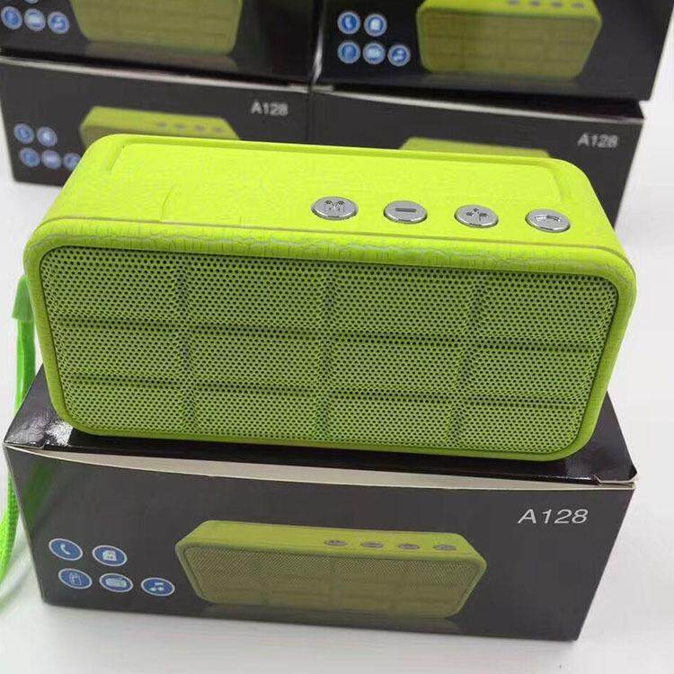 New Wireless Bluetooth Speaker A128 GREEN