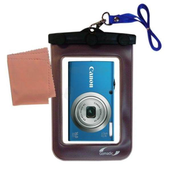 Ringan Tas Kamera Bawah Air Cocok untuk Canon PowerShot A2300 A2400 A2500 Perlindungan Tahan Air-Intl