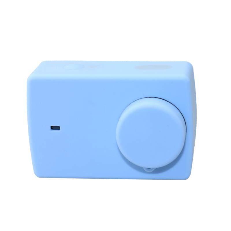Untuk Xiao Yi 4 K 4 K + Yi Lite Kamera Silikon Sarung Sunshade Kerangka Bingkai-Internasional