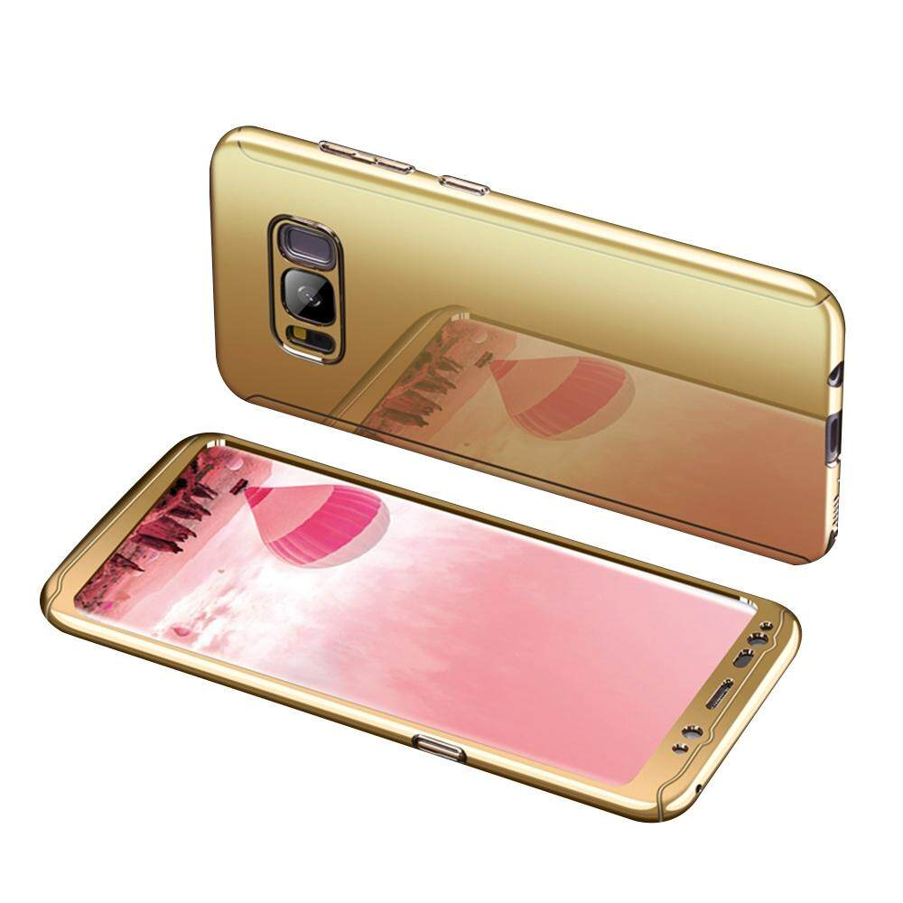Hicase For Samsung Galaxy S8 Case Shockproof PC Hard Back Slim plating shining Cover 2 in
