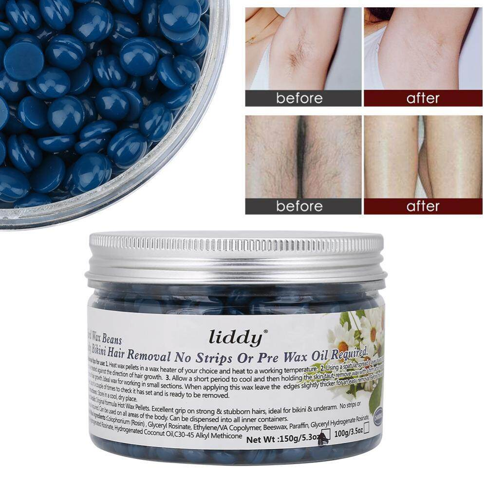 Depilatory Hot Film Hard Wax Bean Body Care Bikini Leg Hair Remover 150g Chamomile - Intl By Rongshida