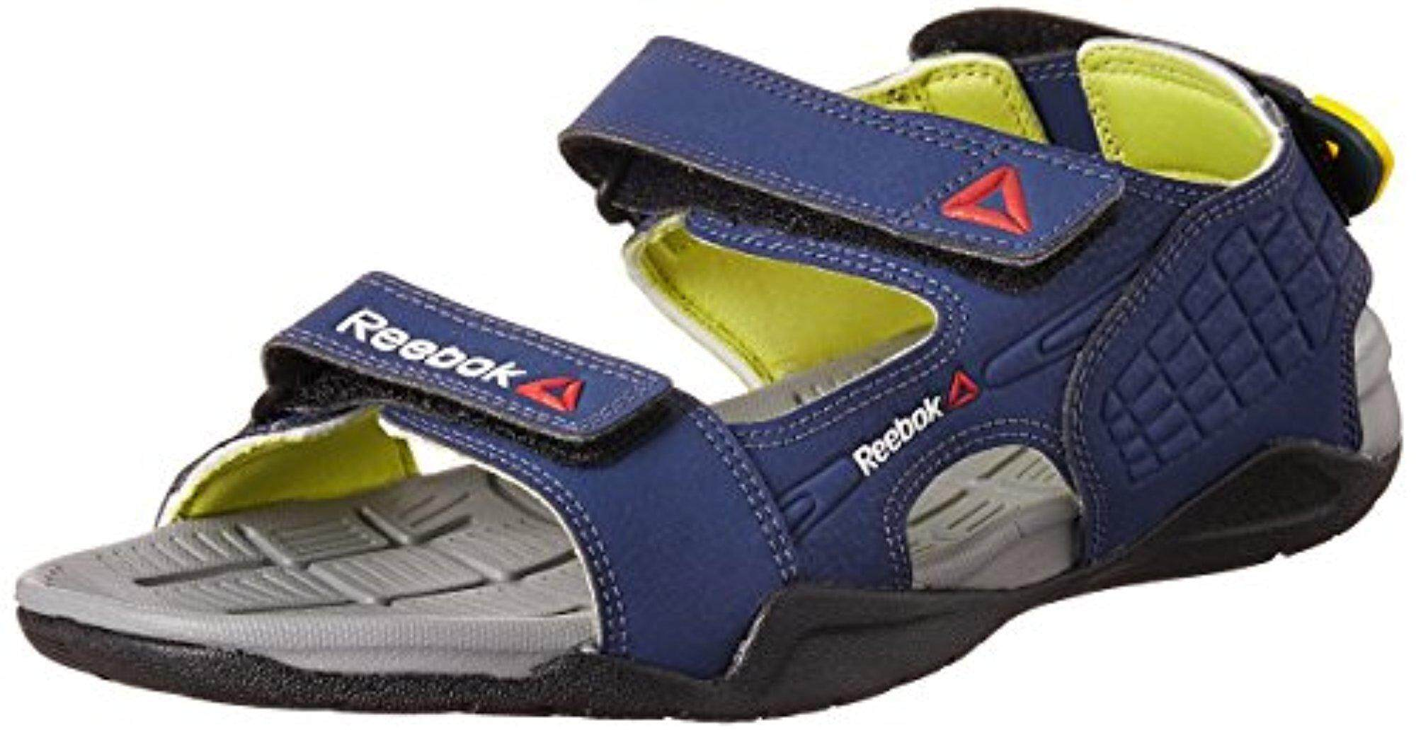 Reebok Men's Adventure Z Supreme Blue, Green, Grey and Black Athletic and Outdoor Sandals - 7 UK/India (40.5 EU)(8 US) - intl