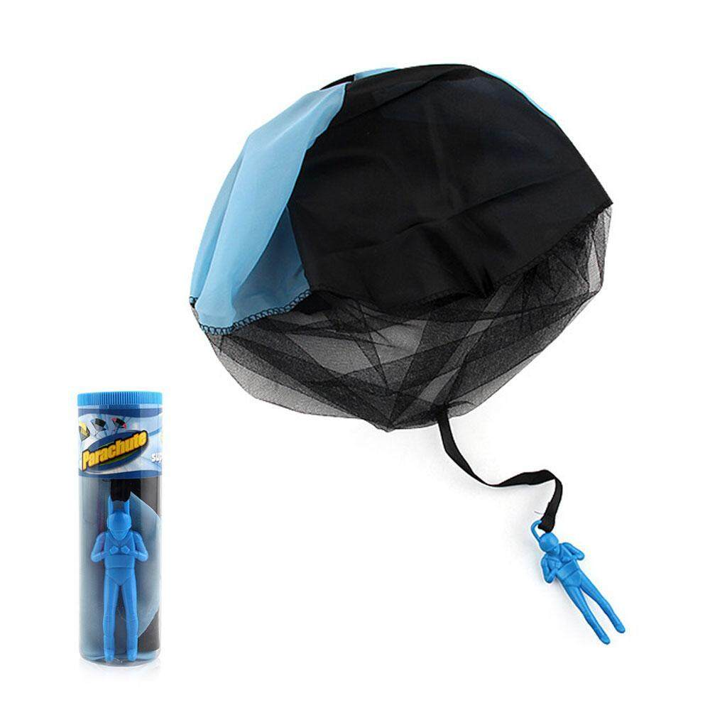 kobwa Parachute Toy, Tangle Free Throwing Parachute Toy With Launcher Toss It Up And Watch Landing Outdoor Play Game Toy For Kids