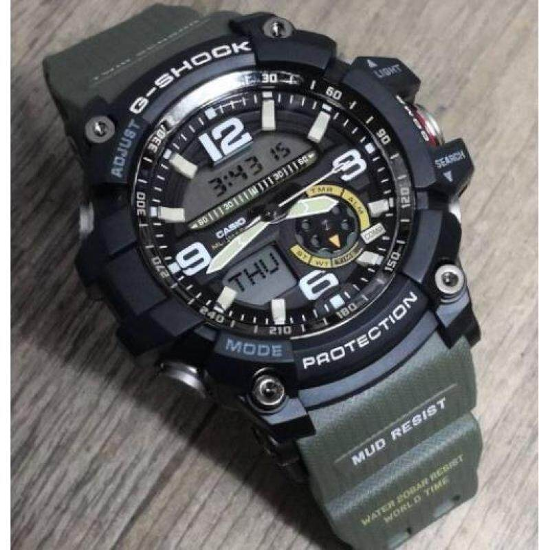 G SHOCK MUDMASTER GG1000 GREEN BLACK WATCH Malaysia