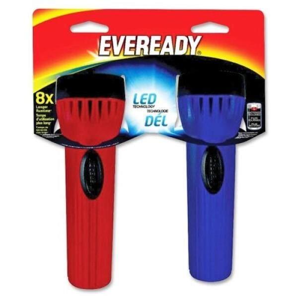 ALMM Eveready LED Economy Flashlight - D - PolypropyleneCasing - Blue - intl