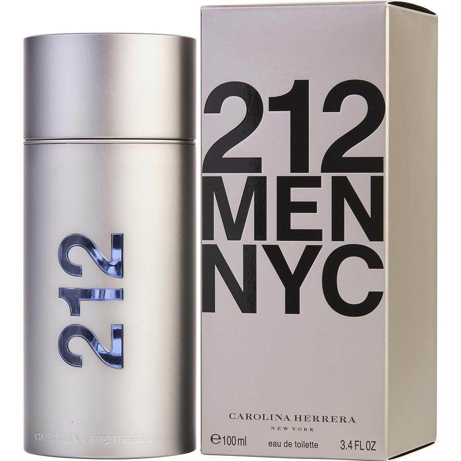 212 Men NYC EDT 100ML Premium High Quality Long Lasting Guarantee