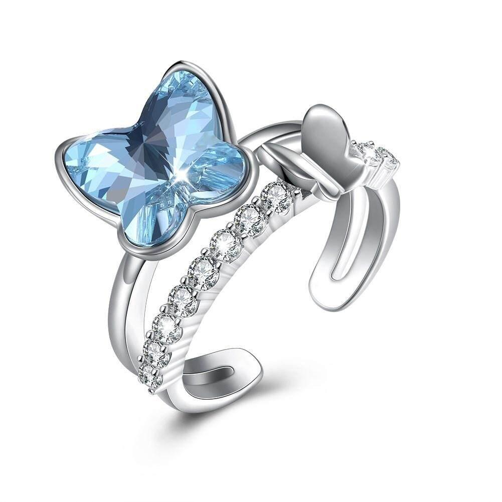 Cincin Pernikahan Perak V2 By Bening Jewelry