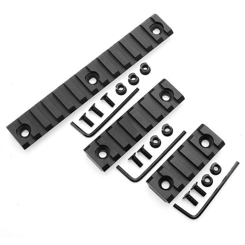 Keymod Picatinny Rail Sections 5 Slot 7 Slot 13 Slot Ringan untuk Keymod Handguard Dudukan Sistem Kereta Api-Internasional